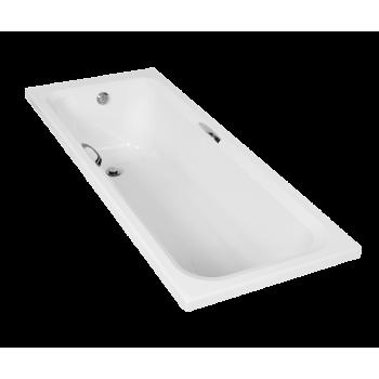 Bath With Handles White 1.7m