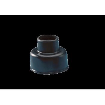 Black Rubber Cone For Flush Pipe