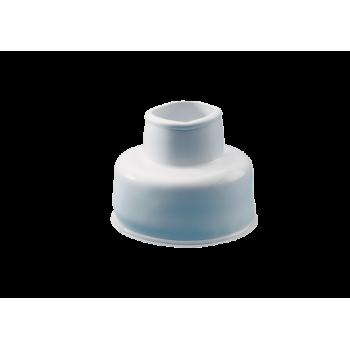 White Rubber Cone For Flush Pipe