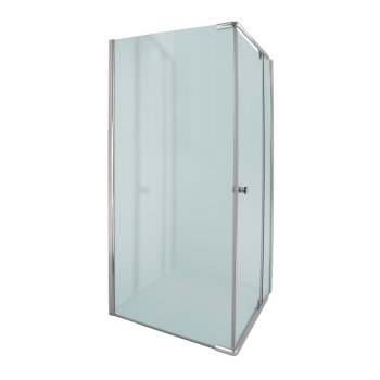 Alpine Square Semi Frameless Pivot Door