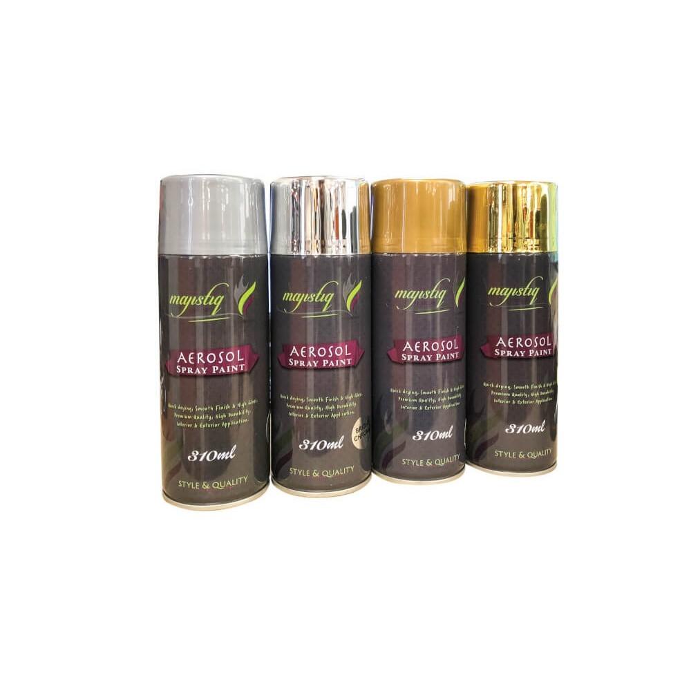 Araf Spray Paint All Purpose Gold
