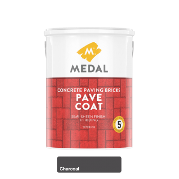 Medal Pave Coat Charcoal 5l