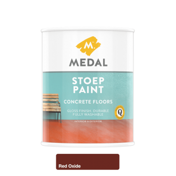Medal Stoep Paint Red Oxide 1l