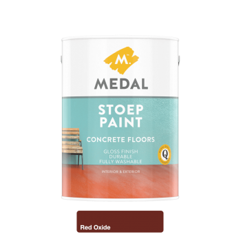 Medal Stoep Paint Red Oxide 5l