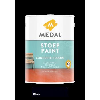 Medal Stoep Paint Black 5l