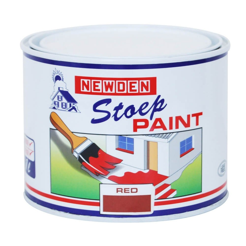 Newden Stoep Paint Red 1l