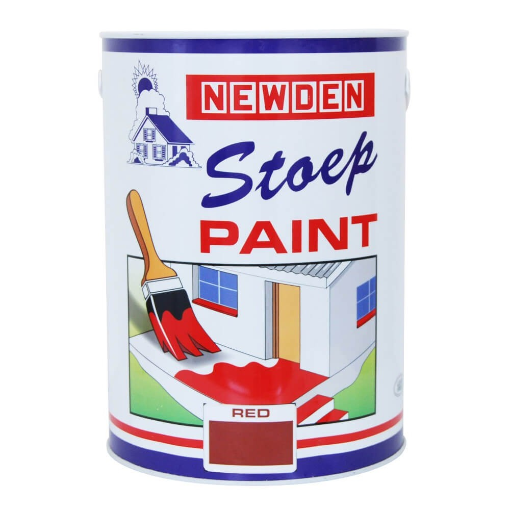 Newden Stoep Paint Red 5l
