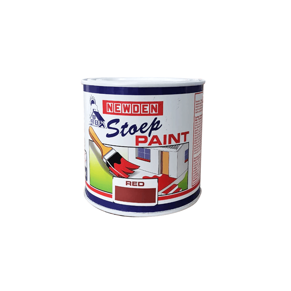 Newden Stoep Paint Alkyd Red 500ml