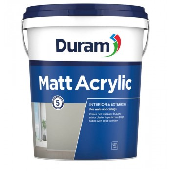 Duram Matt Acrylic Chena White 20l