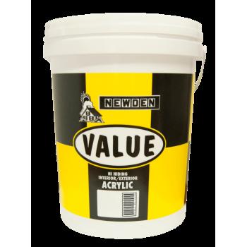 Newden Value Pva White 20l