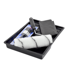 Paint Roller Tray Set, Brush Set & Drop Sheet