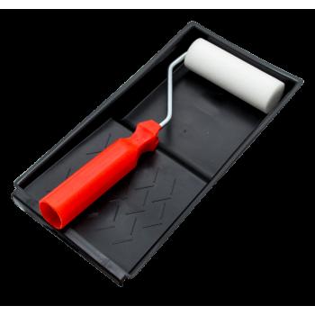 Araf Mini Roller Tray Set Foam 100mm