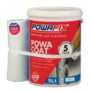 Powa Coat Grey Water Proofer