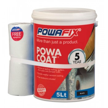 Powa Coat Black Water Proofer