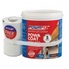 Powa Coat Burgundy Water Proofer