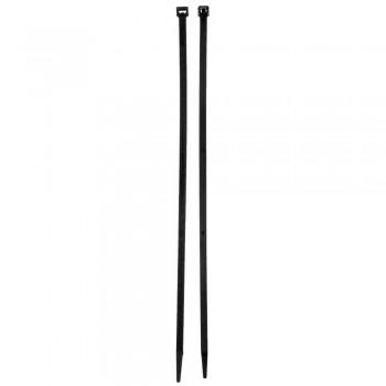 Eureka Cable Tie Black 400mm X 7.2mm Quantity:25