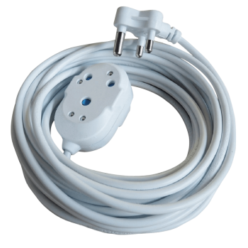 Extension Cord With Double Janus