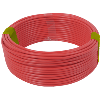 Housewire Sabs Red 4.0mm/ 10m