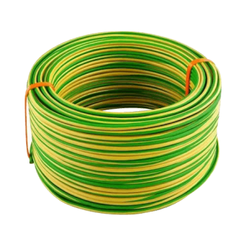 Housewire Sabs Green & Yellow 4mm/10m