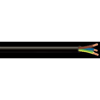 Cabtyre Sabs Black 50m 1.0mmx3c