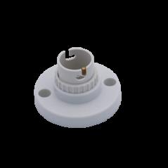 Batten Holder Bc 50mm White