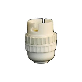 Lamp Holder Nylon 10mm White