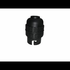 Lamp Holder Nylon 10mm Black