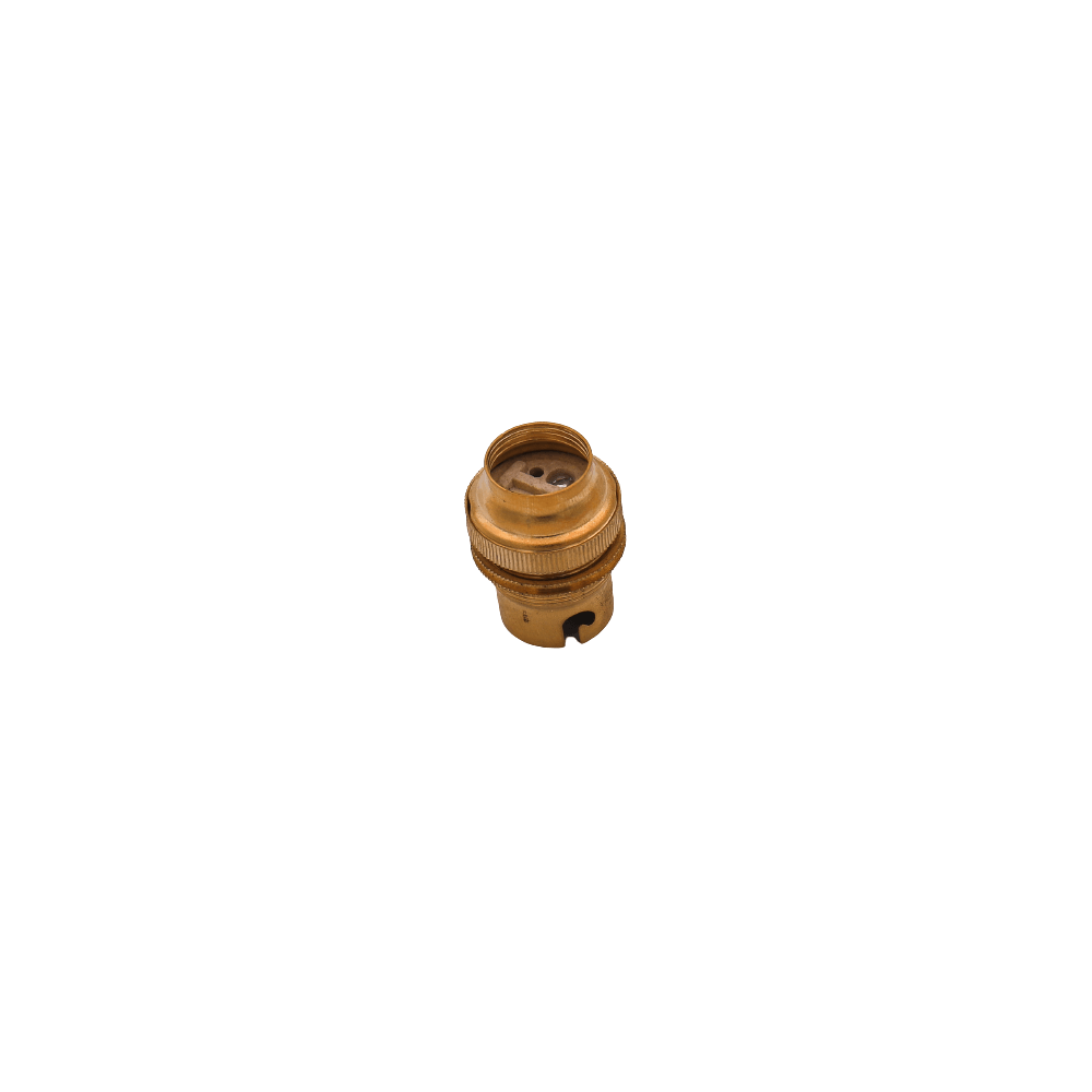 Lamp Holder Brass Bc 20mm
