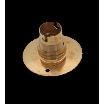 Batten Holder Bc 65mm Brass