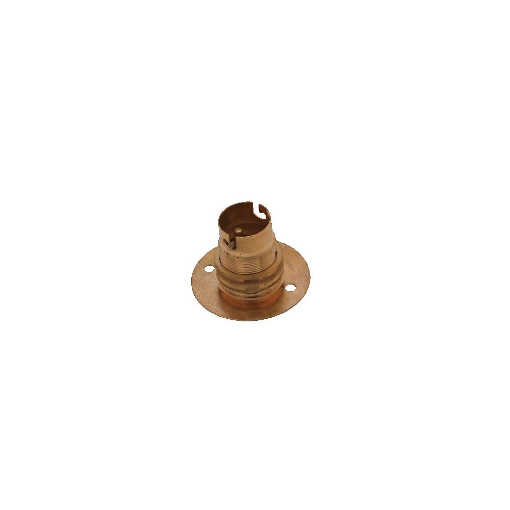 Batten Holder Bc 50mm Brass