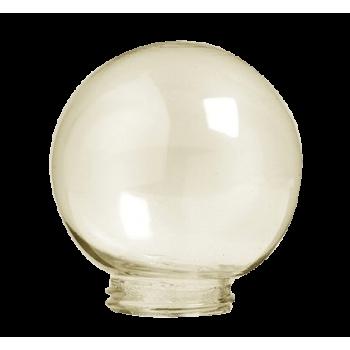 Ceiling Bowl Sabs Amber 160mm