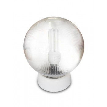 Clear Budget Ceiling Light Including Cfl Bulb
