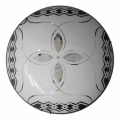 Ceiling Light Led Glass Petals Gcl005