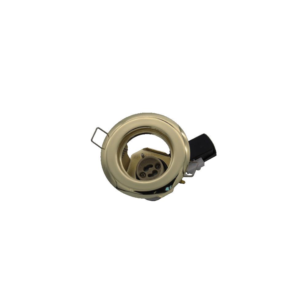 Downlight Dichroic Gu10 Par 16 220v Straight Brass