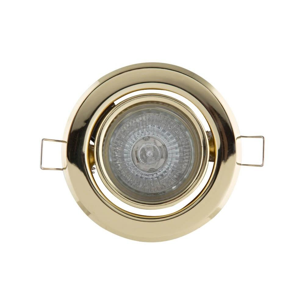 Downlight Gu10 Par16 50w 220 Volt Polished Brass (pp)