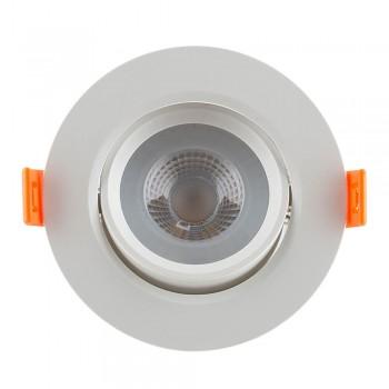 Led Tilt Round Down Light 95mm White 3000k