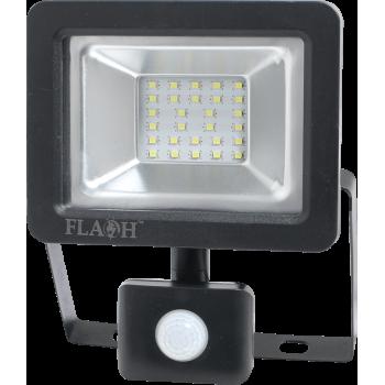 20w Led Floodlight With Pir Sensor