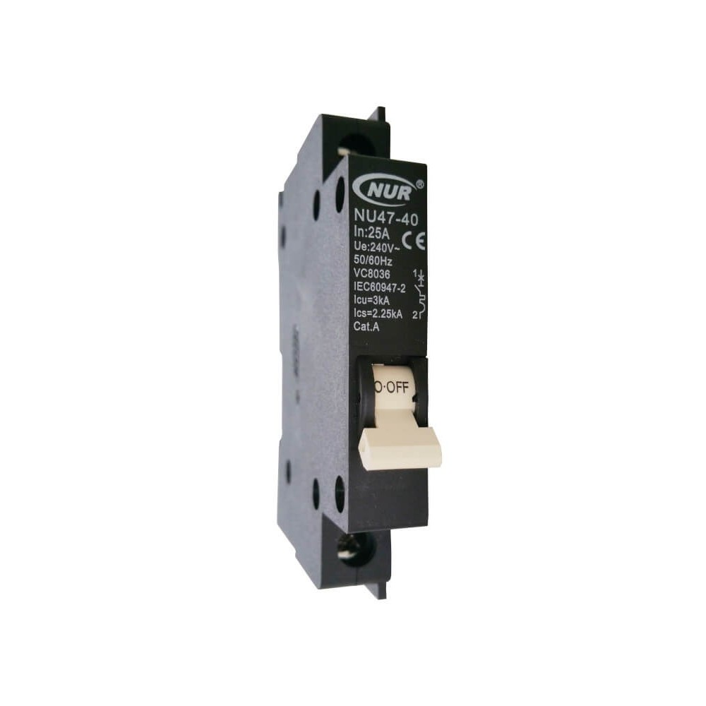 Circuit Breaker Mini Rail 25a