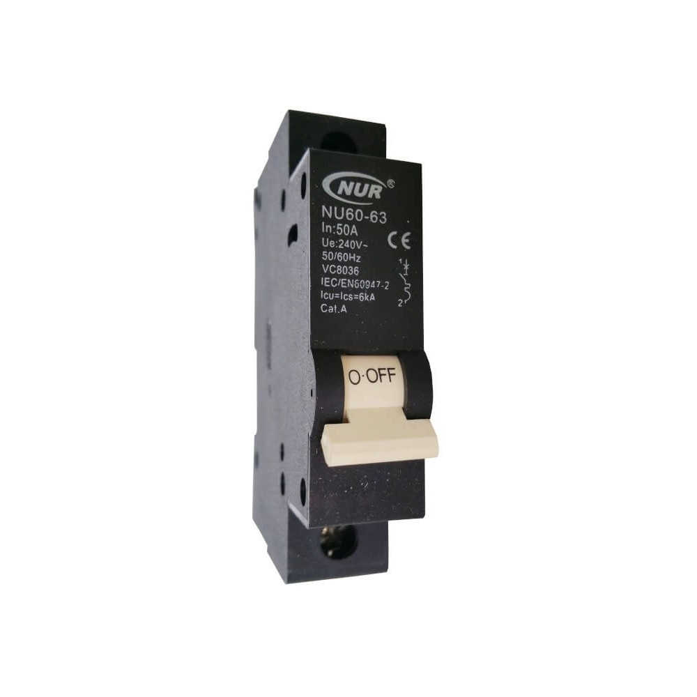 Circuit Breaker Mini Rail 50a