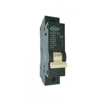 Circuit Breaker Mini Rail 63a 6ka