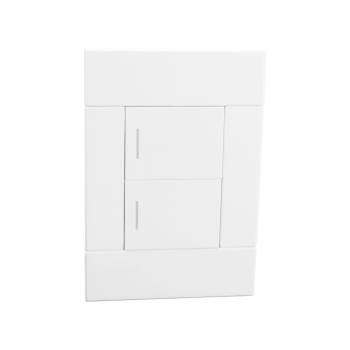 Two Lever Switch, White, Veti 2