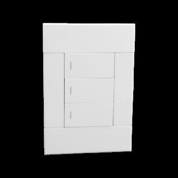 Three Lever Switch, White, Veti 2