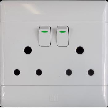 Switch Plug Double Cbi