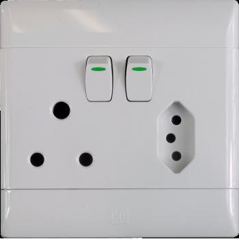 Switch Plug Euro Vertical Cbi