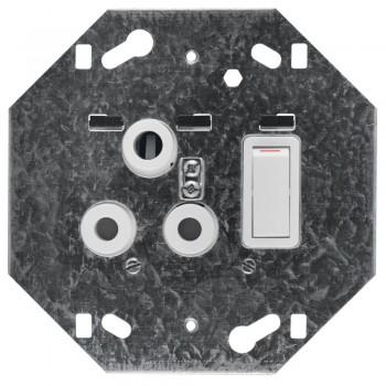 Switch Plug Crabtree Single
