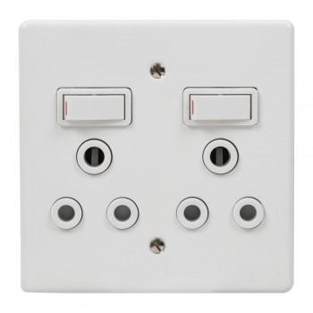 Switch Plug Crabtree Twin