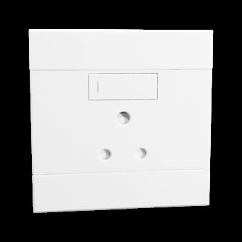 Single Socket, 16amp, White, Veti 2