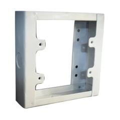 Extension Box Metal White 100mm X 100mm