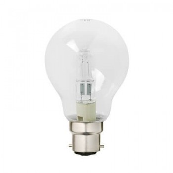 Halogen Gls Eco B22 28w Clear Blister