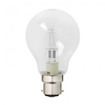 Halogen Gls Eco B22 70w Clear Blister